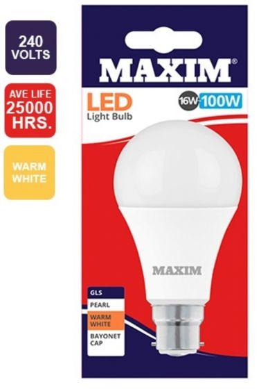 100W Warm White BC Light Bulb