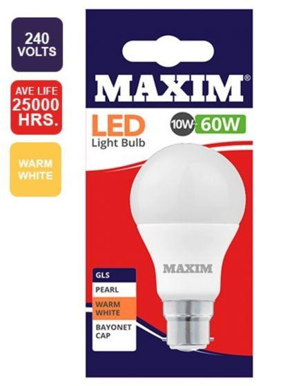 60W Warm White BC Light Bulb