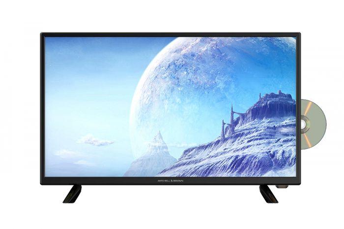 """M&B JB-24CN1811DVD 24"""" HD Ready DVD Combi Freeview HD LED TV"""