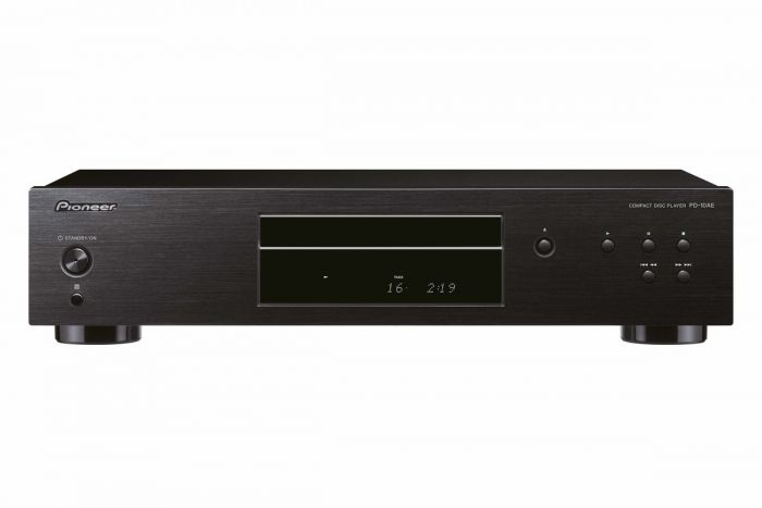 Pioneer PD-10AE-B Pure audio CD player with silent drive and 10ppm precision clock