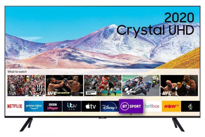 "Samsung UE75TU8000 75"" 4K Ultra HD Smart LED TV"
