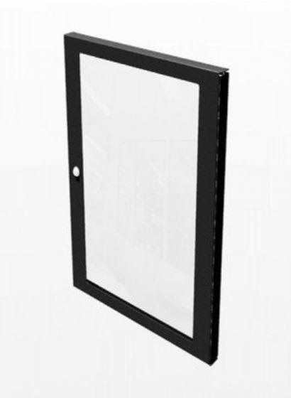 Penn Elcom 24u Lockable Polycarbonate Door For 19in Equipment Rack - R8450/24