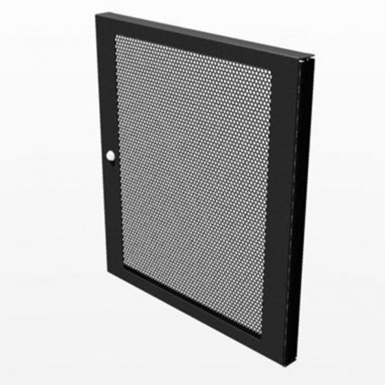 Penn-Elcom 12U Lockable Vented Steel Door - R8460/12